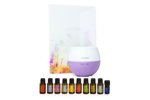 home essentials doterra essential oil kit